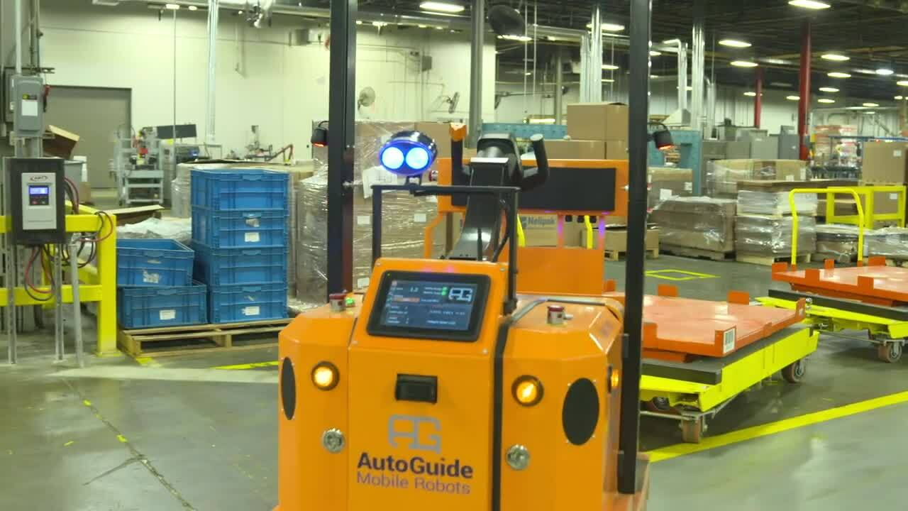 AutoGuide Customer Case Study Warehousing Spanish