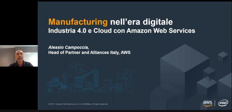 Industria 4.0 e Cloud con Amazon Web Services