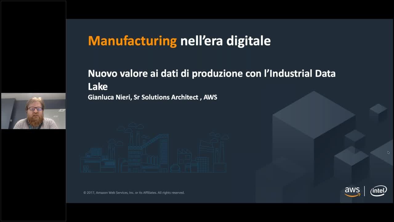 Nuovo valore ai dati di produzione con l'Industrial Data Lake