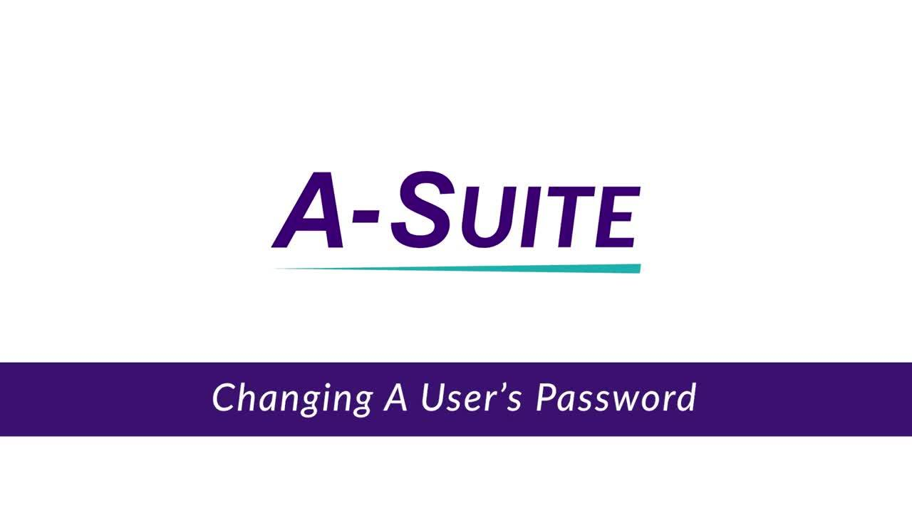 4.10_Changing a User's Password