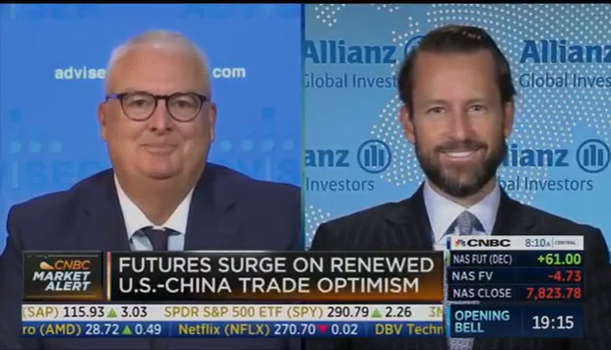 Lowell on CNBC: Stock Market Volatility Will Continue