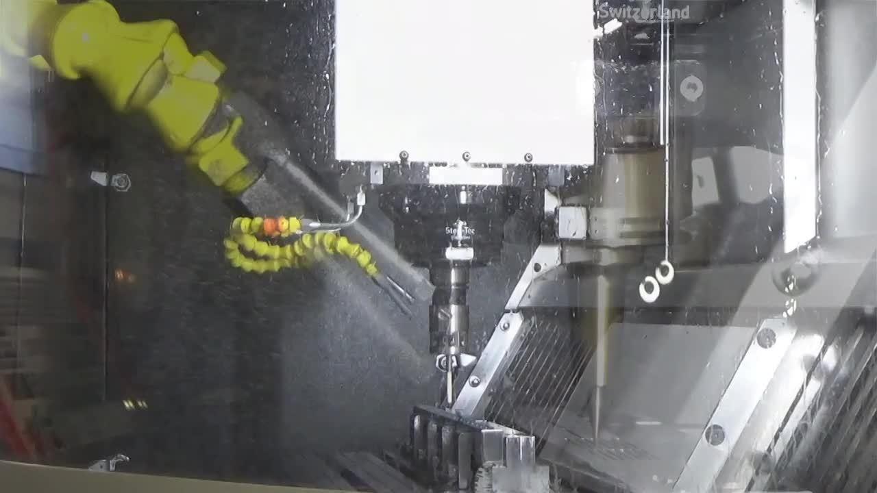 Bead Mikron Mill 500 S 25 sec clip