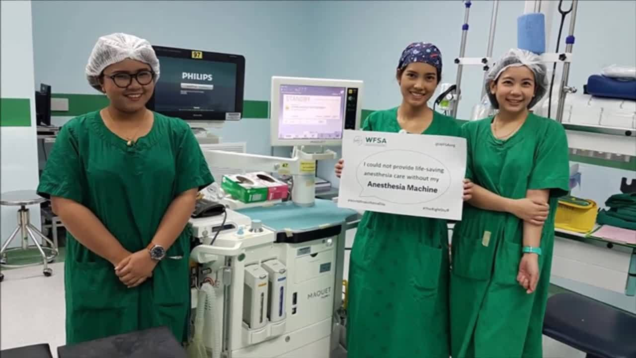 World Anesthesia Day 2018  - #TheRightStuff campaign together with Getinge´s customers