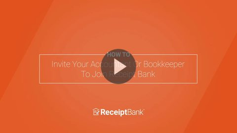 How to: Invite Your Accountant Or Bookkeeper To Join Receipt Bank