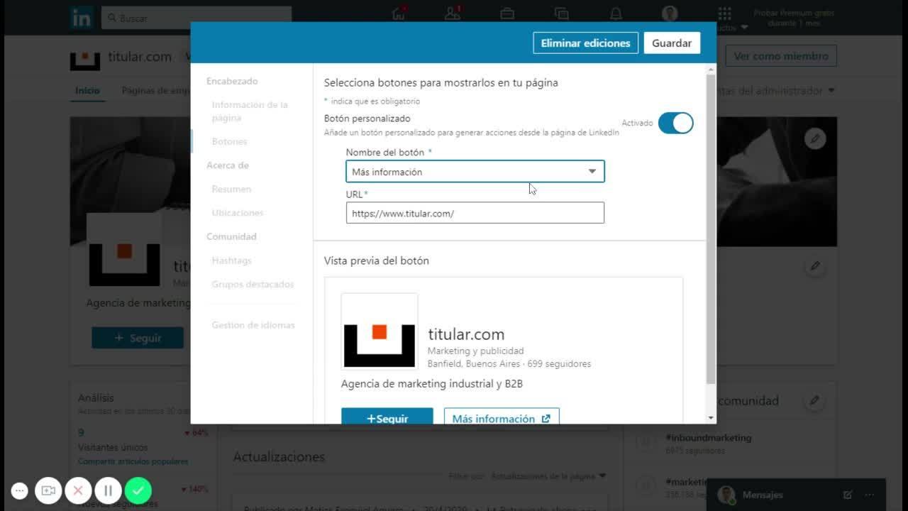 Video002 - titular.com_ administrador de la página de empresa _ LinkedIn