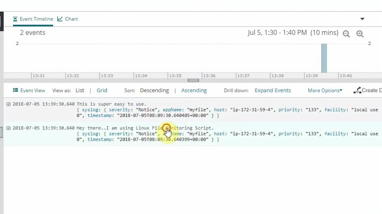 SolarWinds Loggly: Linux File Monitoring Setup
