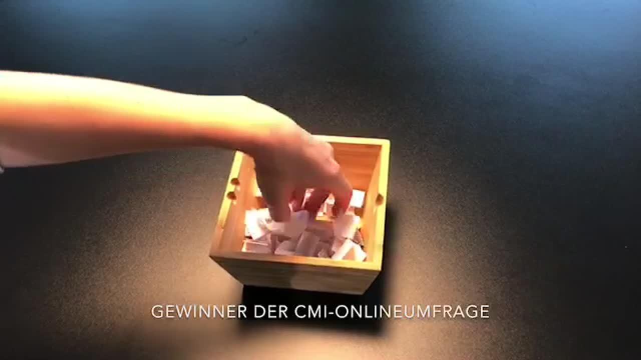 Gewinner der CMI-Onlineumfrage