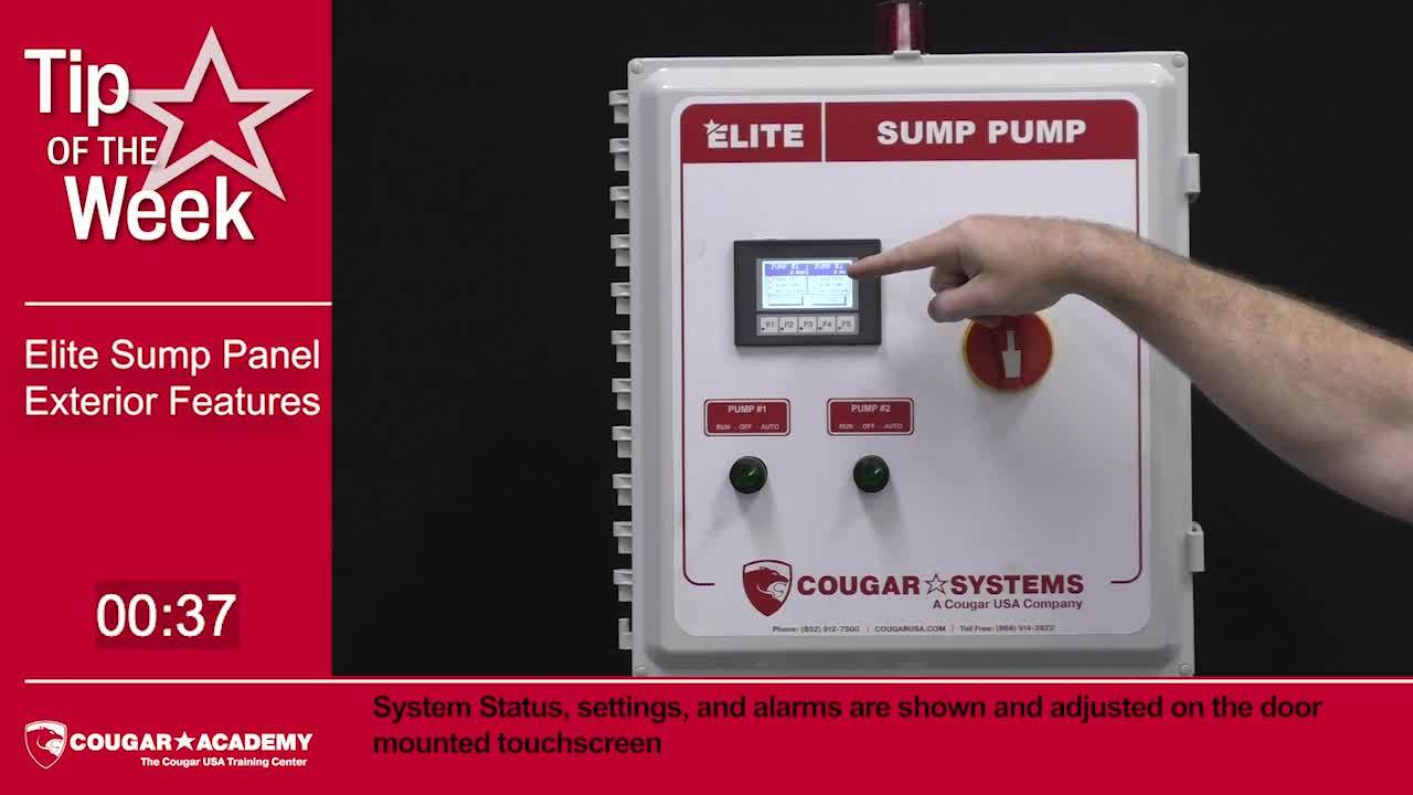 Elite Sump Pump Exterior Features