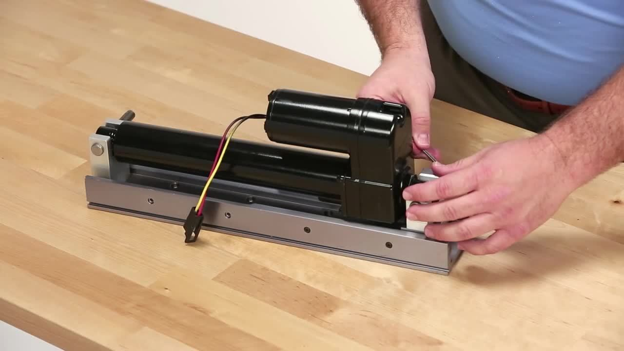 A - How to Mount an Industrial Linear Actuator