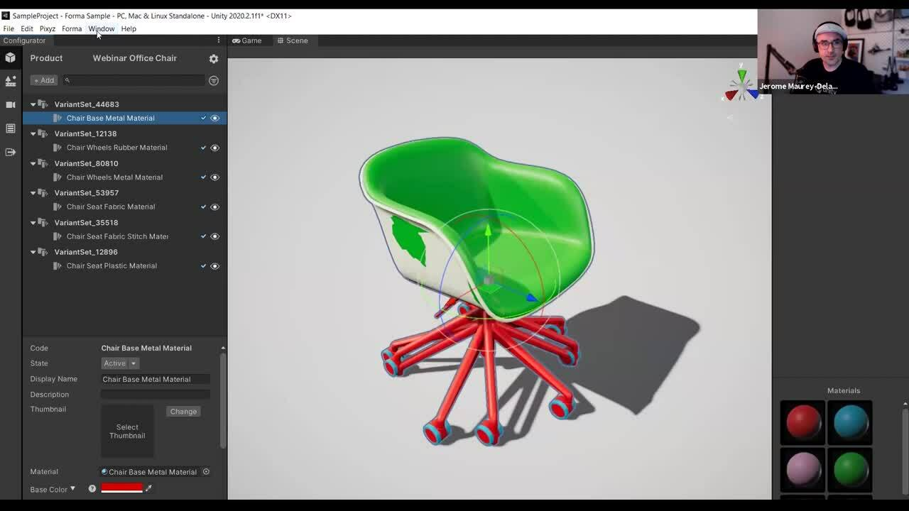 Unity Forma – Importing a product and creating variants