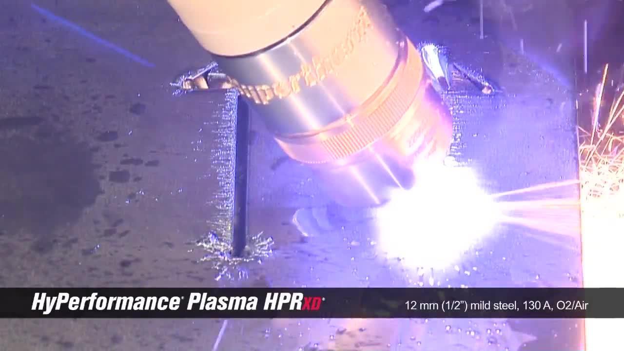 HPRXD 12mm (.5 in) mild steel