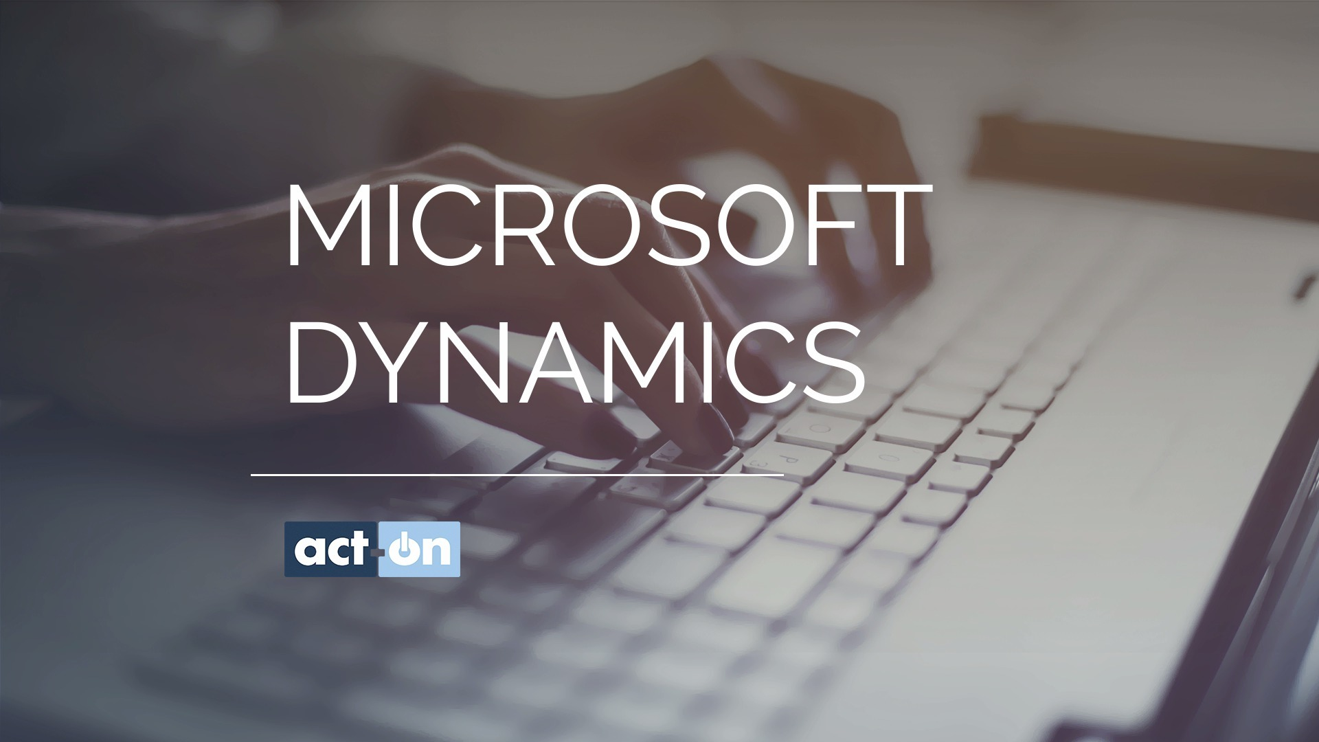 Act-On Product Demo for Microsoft Dynamics CRM Integration