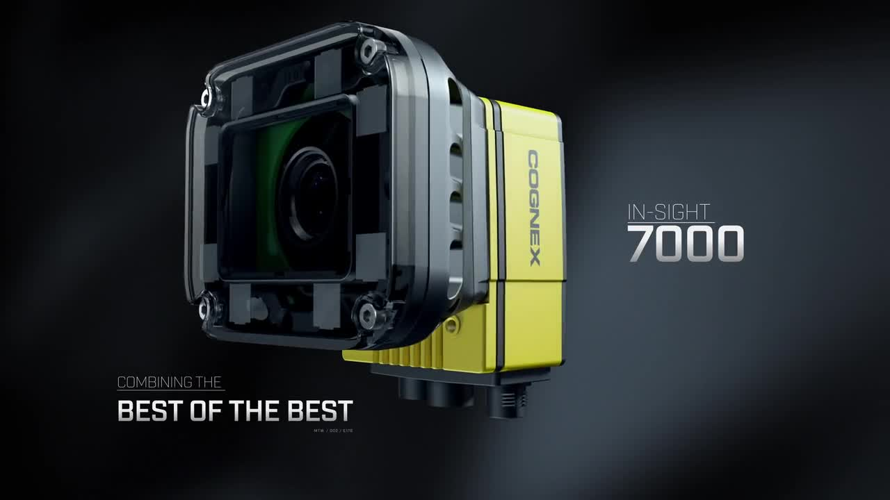 In-Sight 7000 Series Vision Systems | Cognex