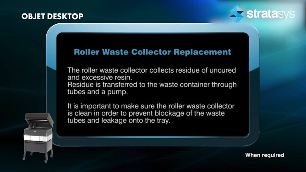 Desktop - Roller Waste Collector Replacement