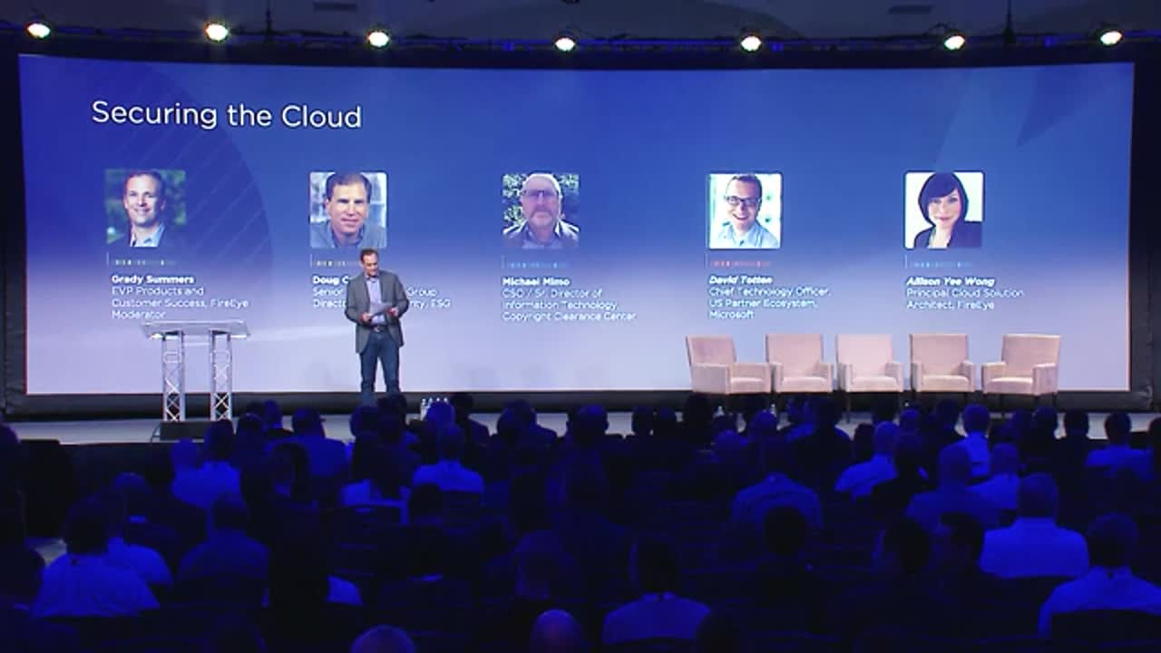 Securing the Cloud – CDS Panel