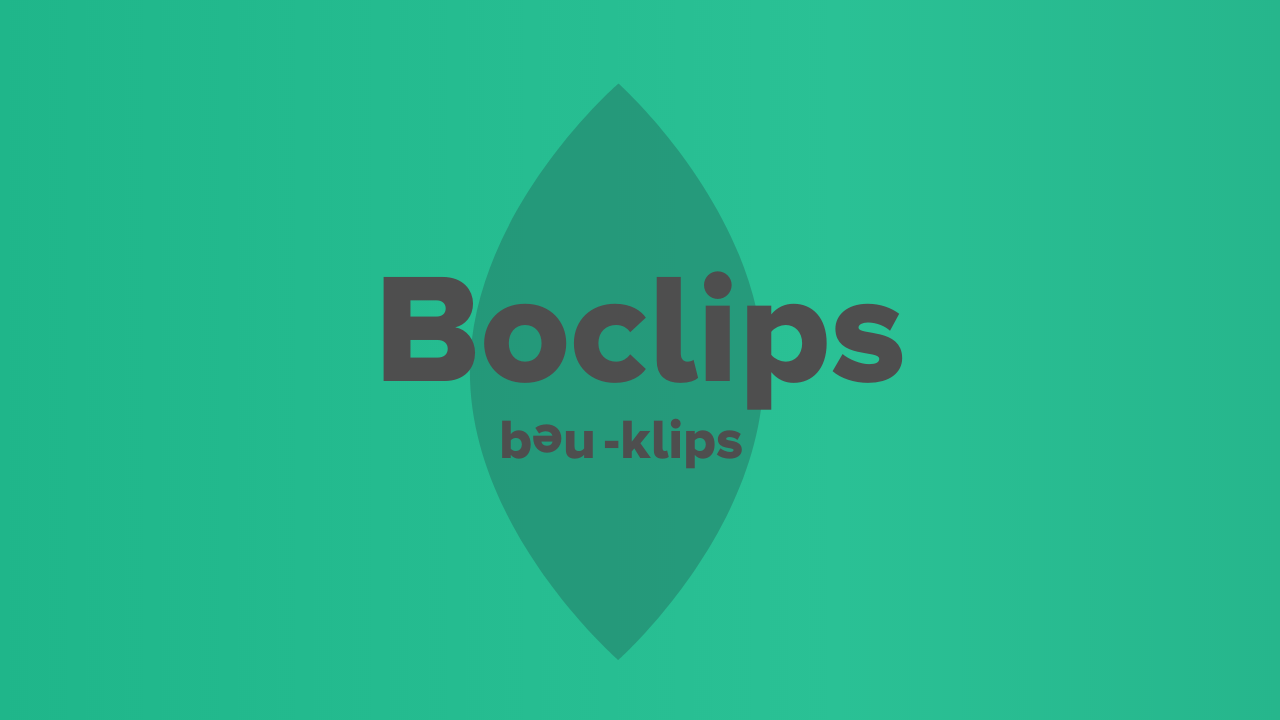 Boclips name explainer video