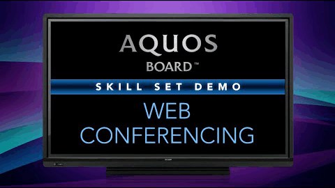 GoToMeeting™ Web Conferencing on the Sharp AQUOS BOARD