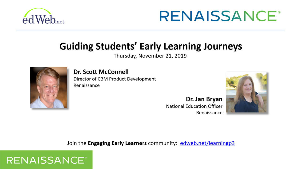 Guiding Students' Early Learning Journeys