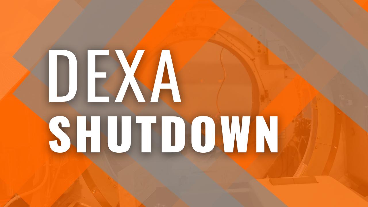 Proper DEXA Shutdown