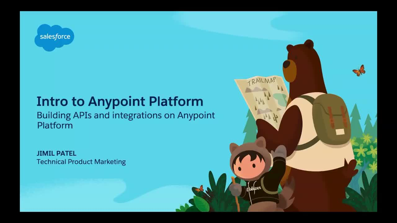 Dreamforce 2019: Intro to MuleSoft Anypoint Platform