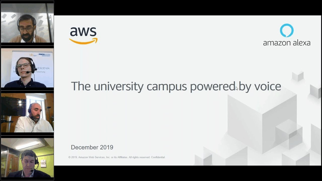 The University Campus Powered by Voice