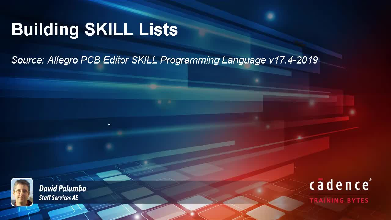 Building SKILL Lists