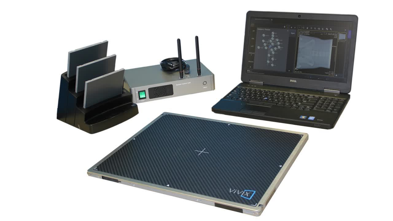 Using a DR Panel to Make Your Portable X-Ray Fully Digital
