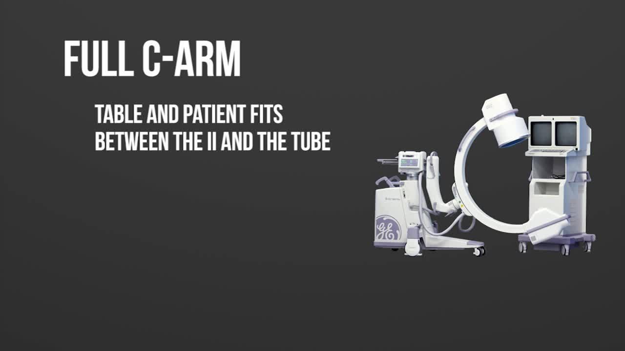 Mini C-Arm vs Full Size C-Arm vs Compact