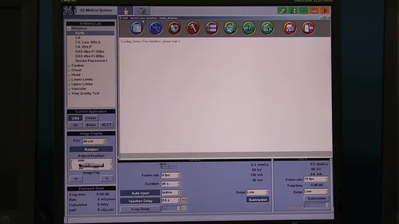 How to Find Enabled Software Options on an Innova Cath Lab
