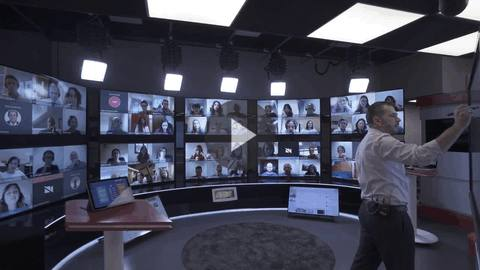 Barco weConnect Virtual Classsroom at IESE & ESSEC