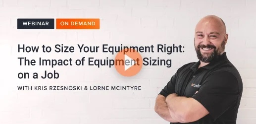 How to size your equipment right