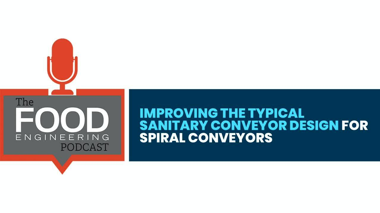 Improving the Typical Sanitary Conveyor Design for Spiral Conveyors