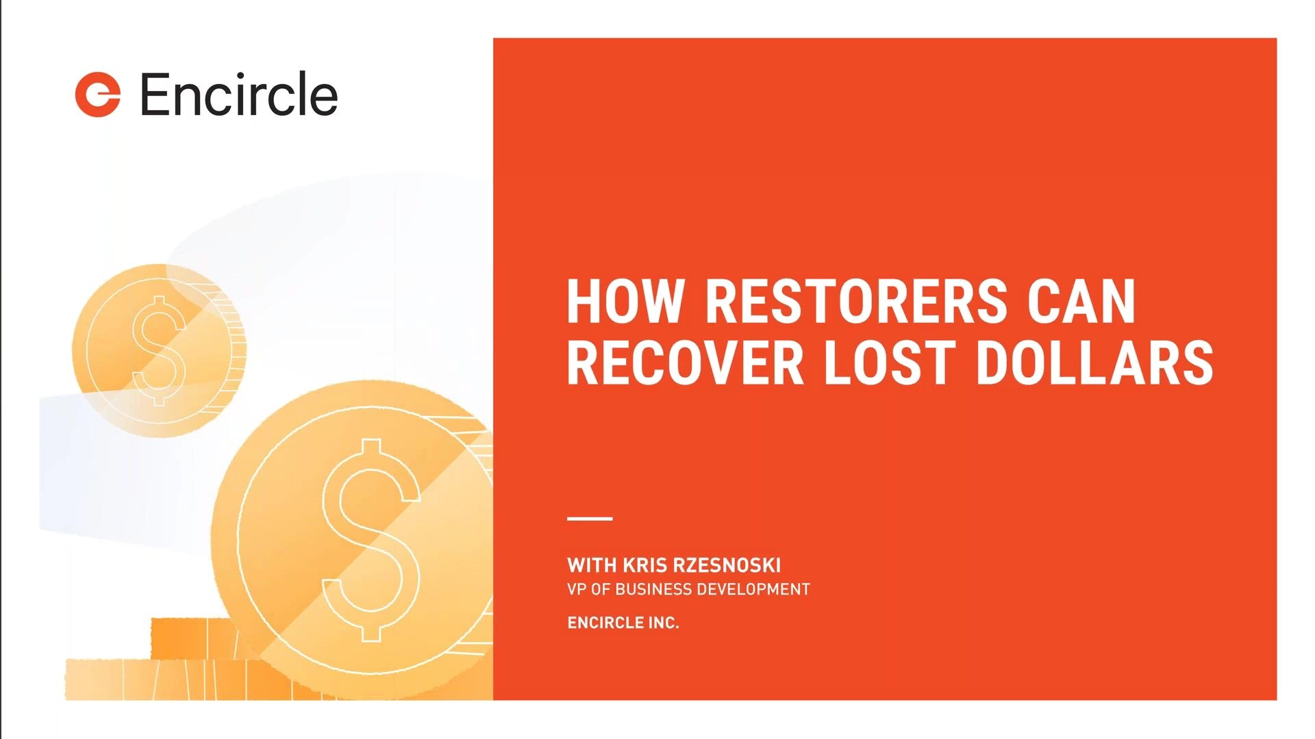 How Restorers Can Recover Lost Dollars