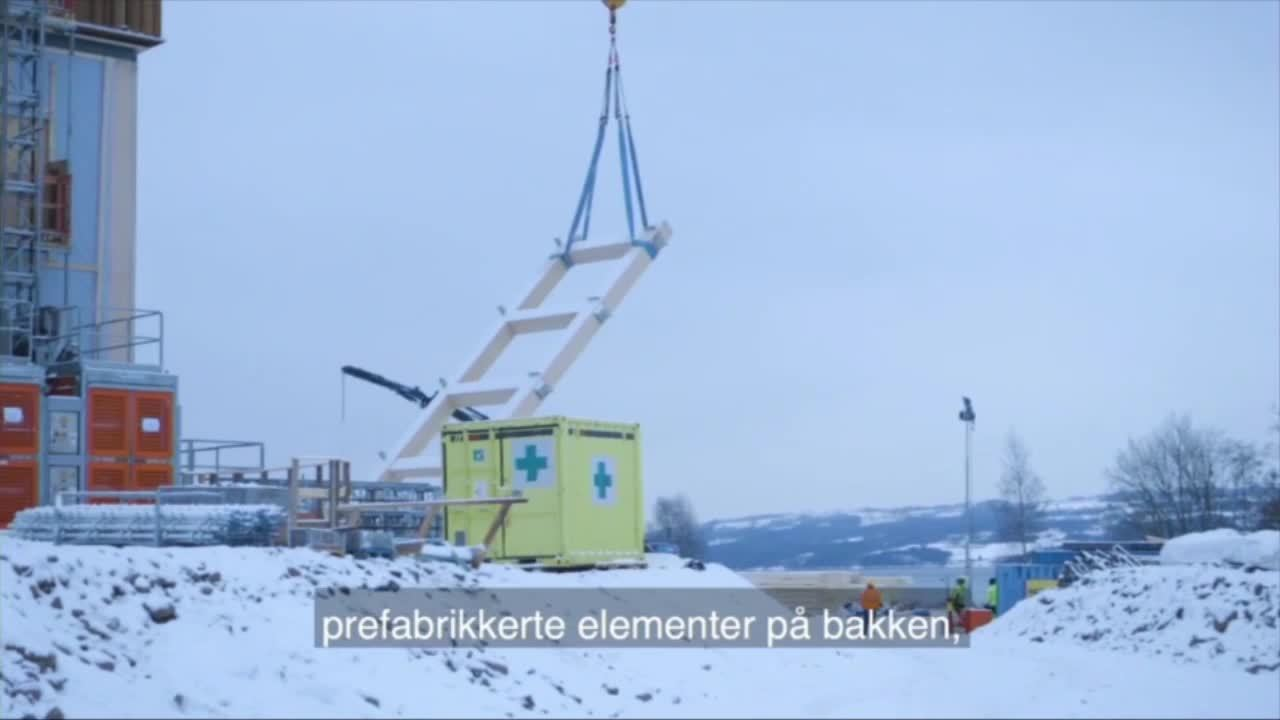 4. Film om Mjøstårnet