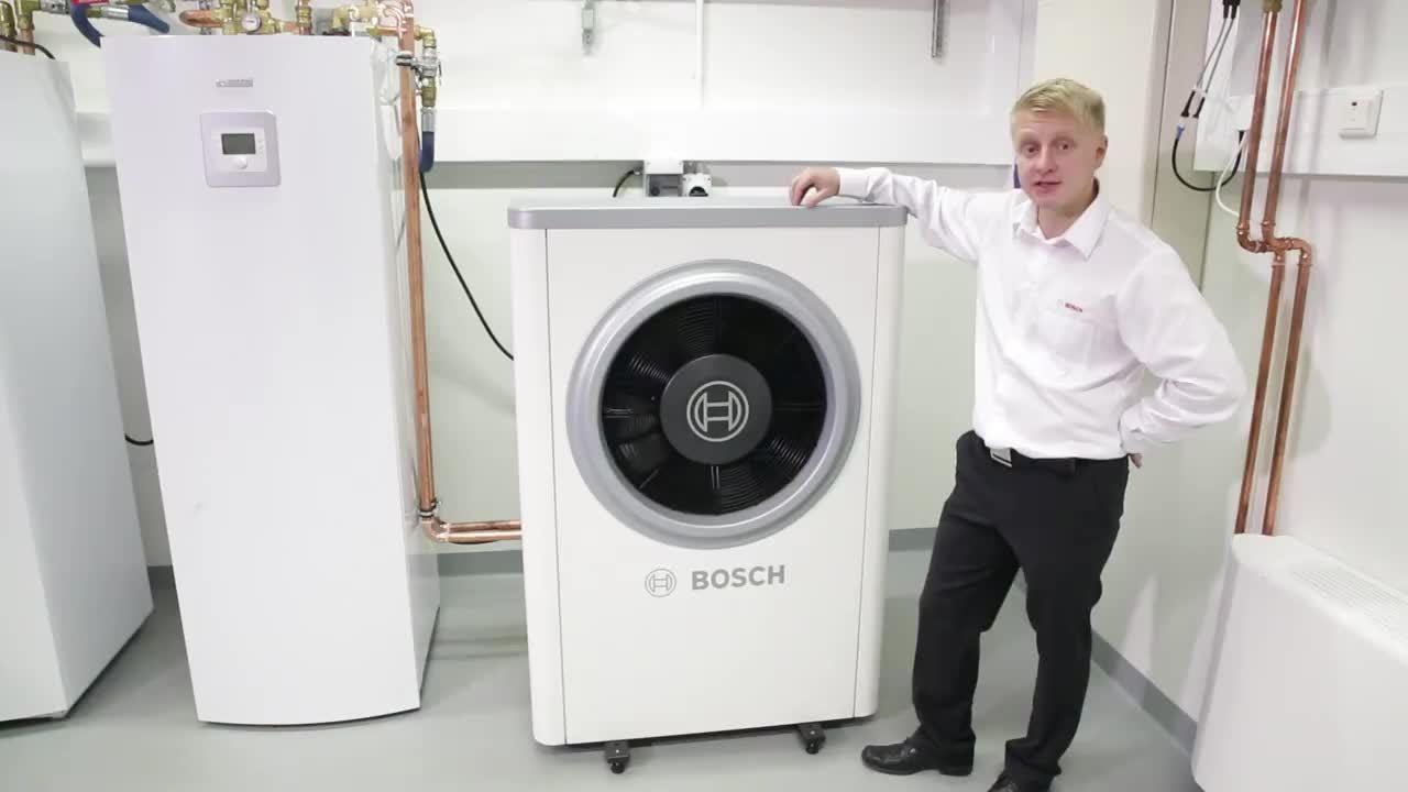 Bosch ilmavesilämpöpumppu esittely