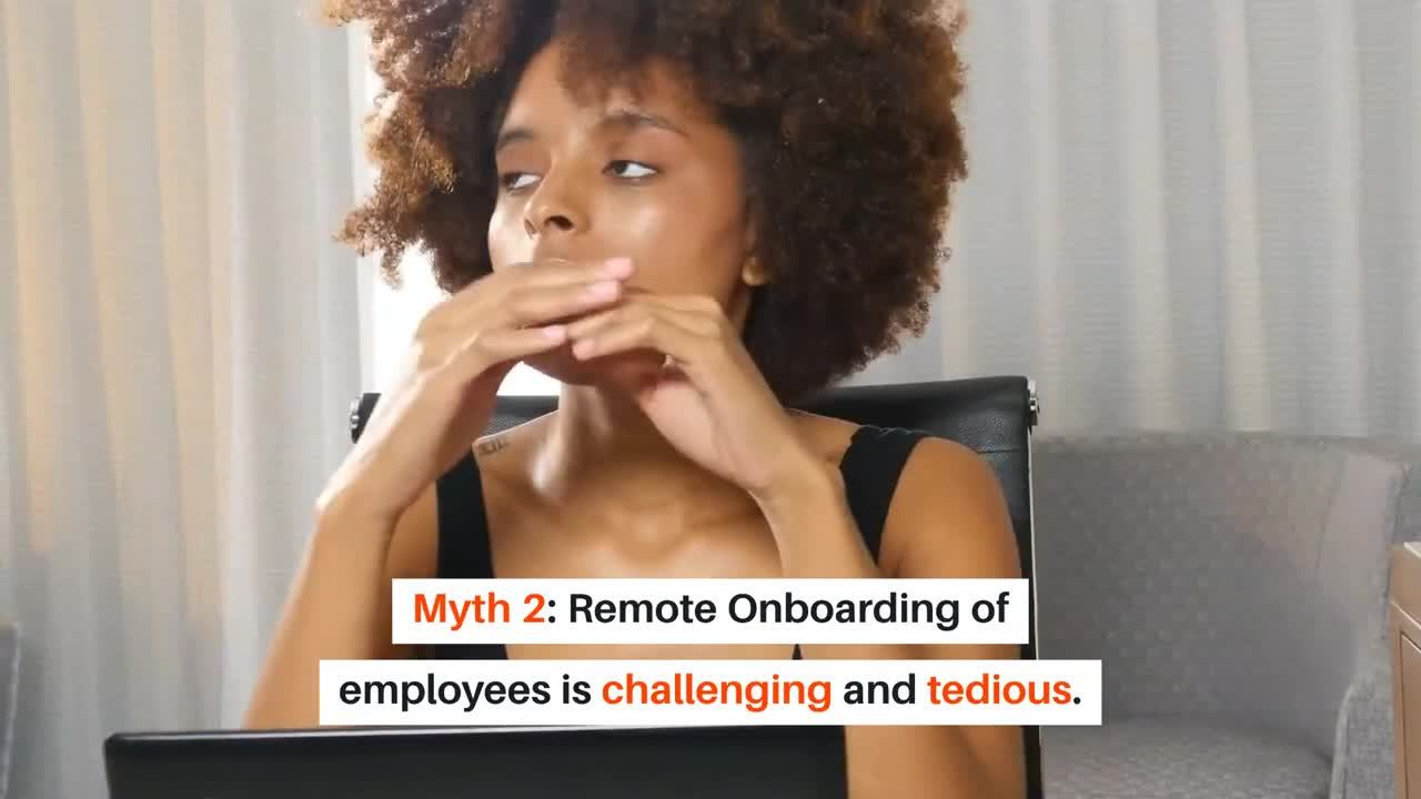 Top 4 Myths Of Remote Onboarding And Training - Busted