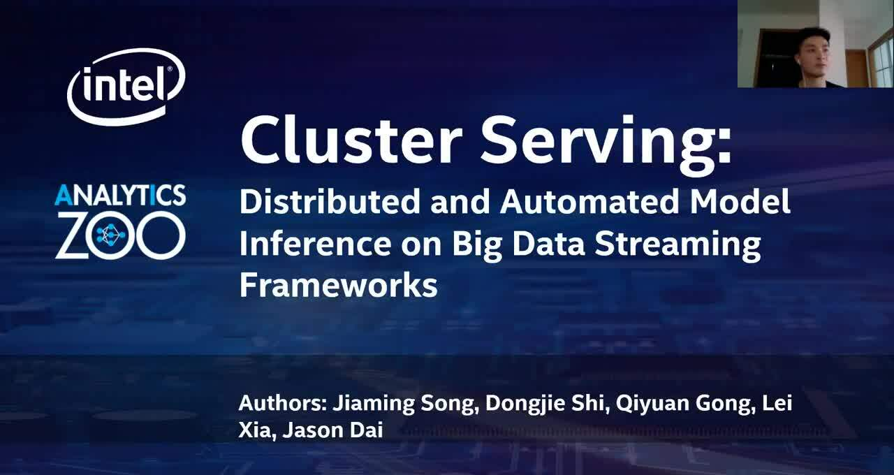Cluster Serving - Distributed Model Inference using Apache Flink in Analytics Zoo