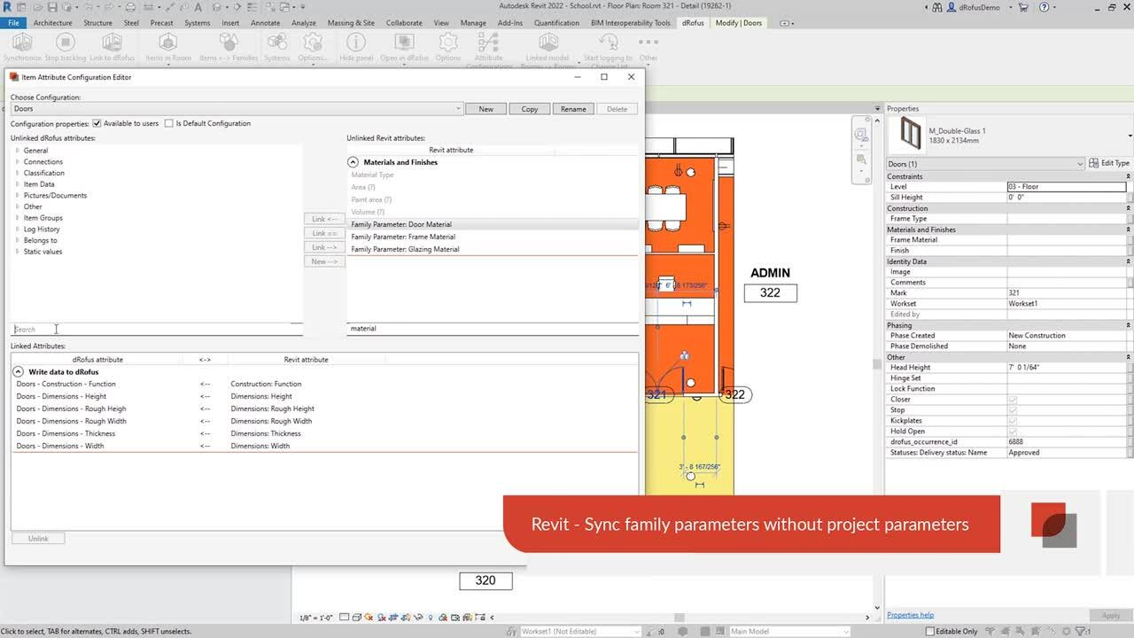 3 Revit - Sync Family Parameters without Project Parameters