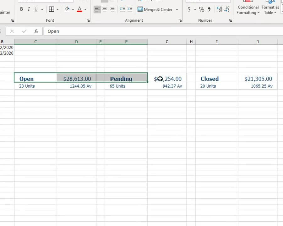 Linked Picture Excel