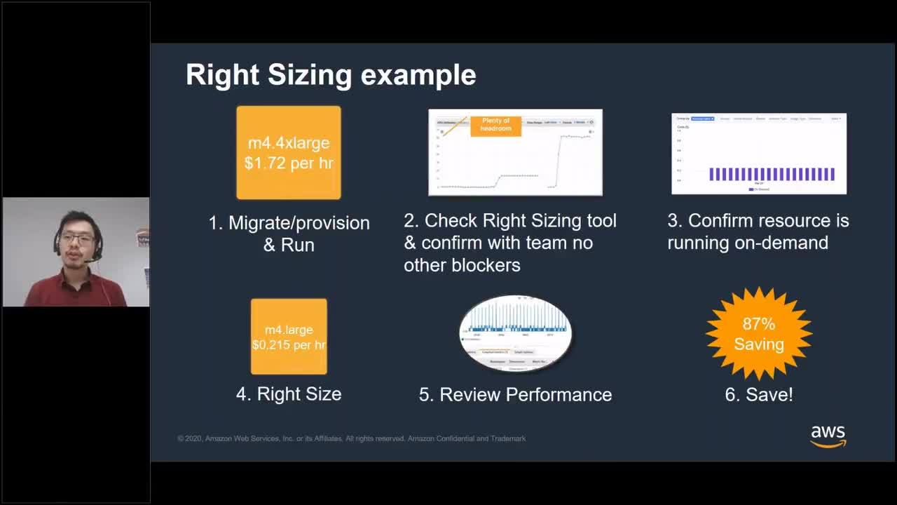 AWS Cost Optimization - Save while we stay safe - 03 April 2020