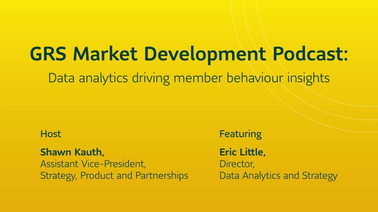 Data analytics driving member behaviour insights