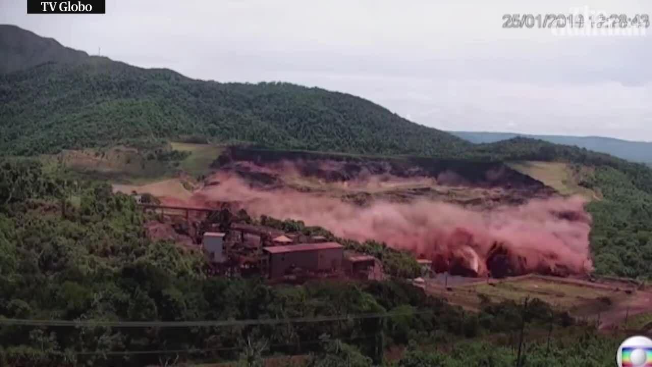 TailingDam - Brumadinho dam collapse, Brazil 201901