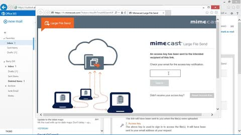 Product Showcase - Mimecast Large file Send