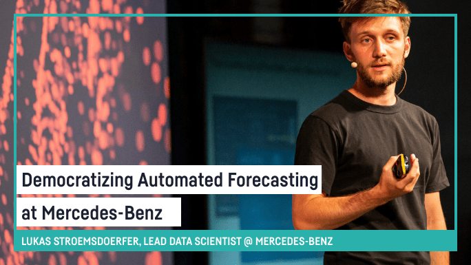 Democratizing Automated Forecasting at Mercedes-Benz