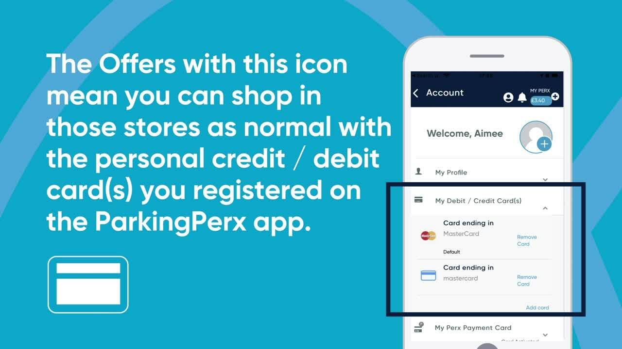 How to earn Perx in-store