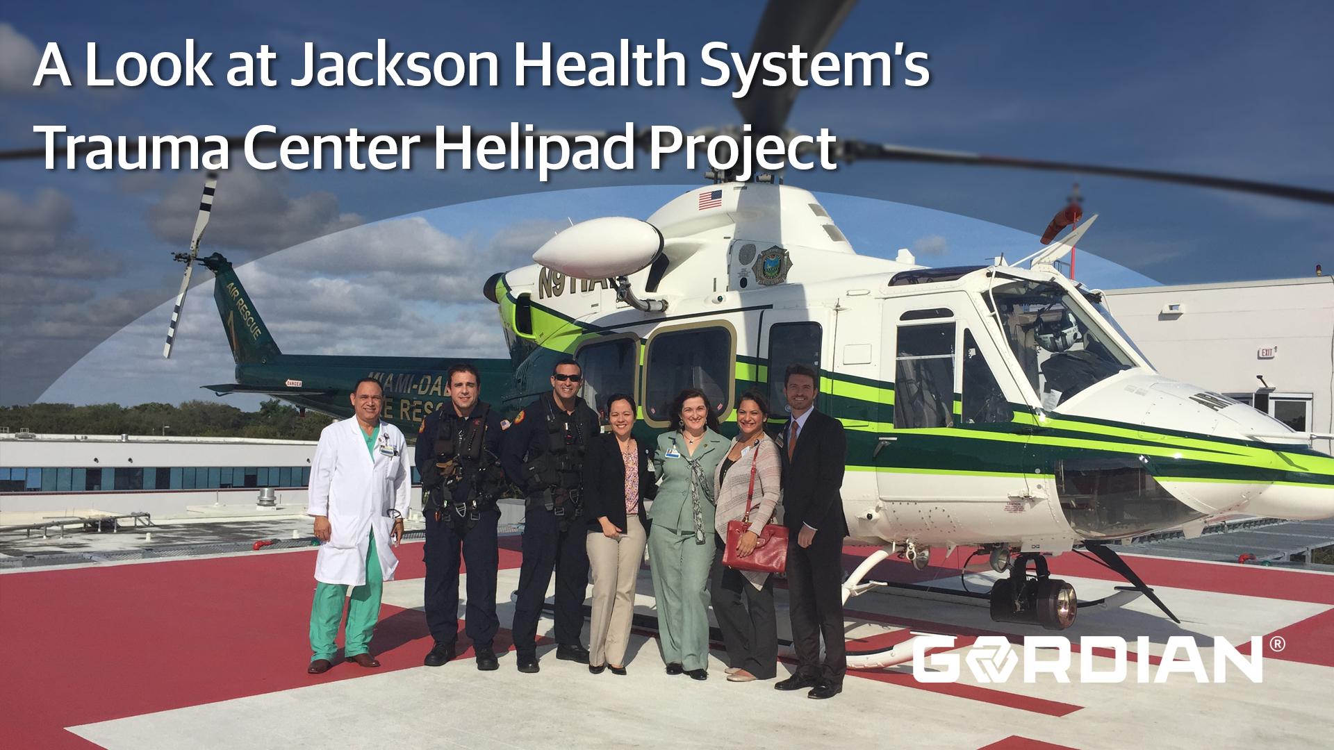 Healthcare System Builds Helipad Using JOC