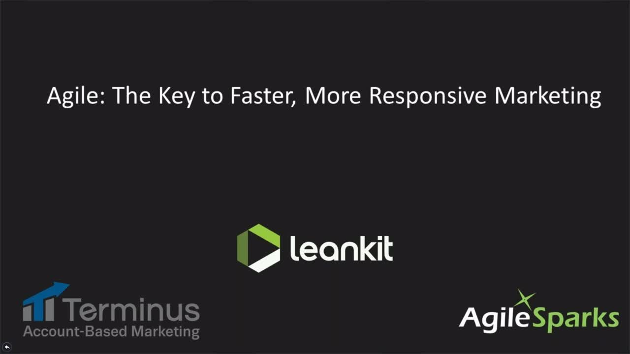 Video: Agile: The Key to Faster, More Responsive Marketing