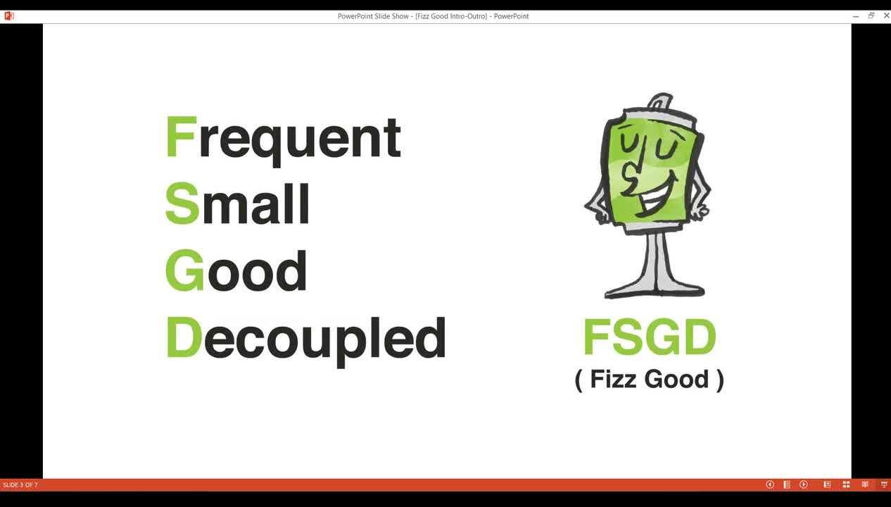 Video: Does this Fizz Good Webinar Recording