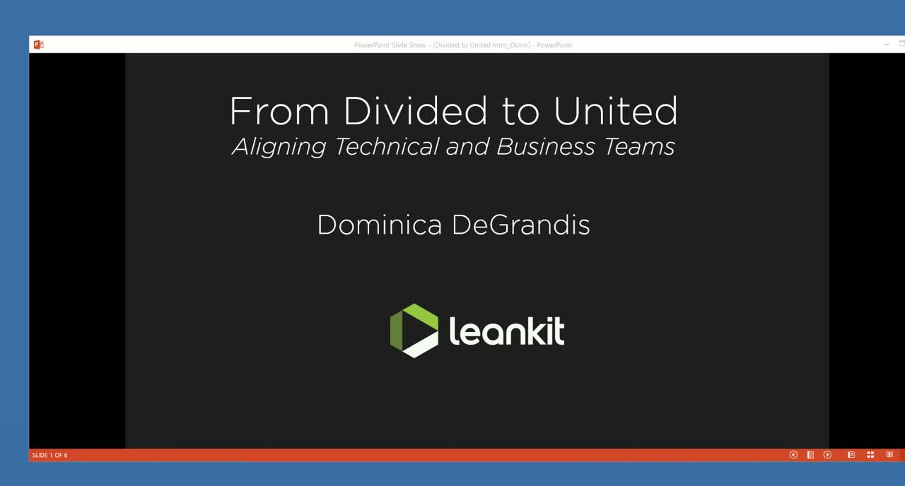 Video: From Divided to United - Aligning Technical and Business Teams