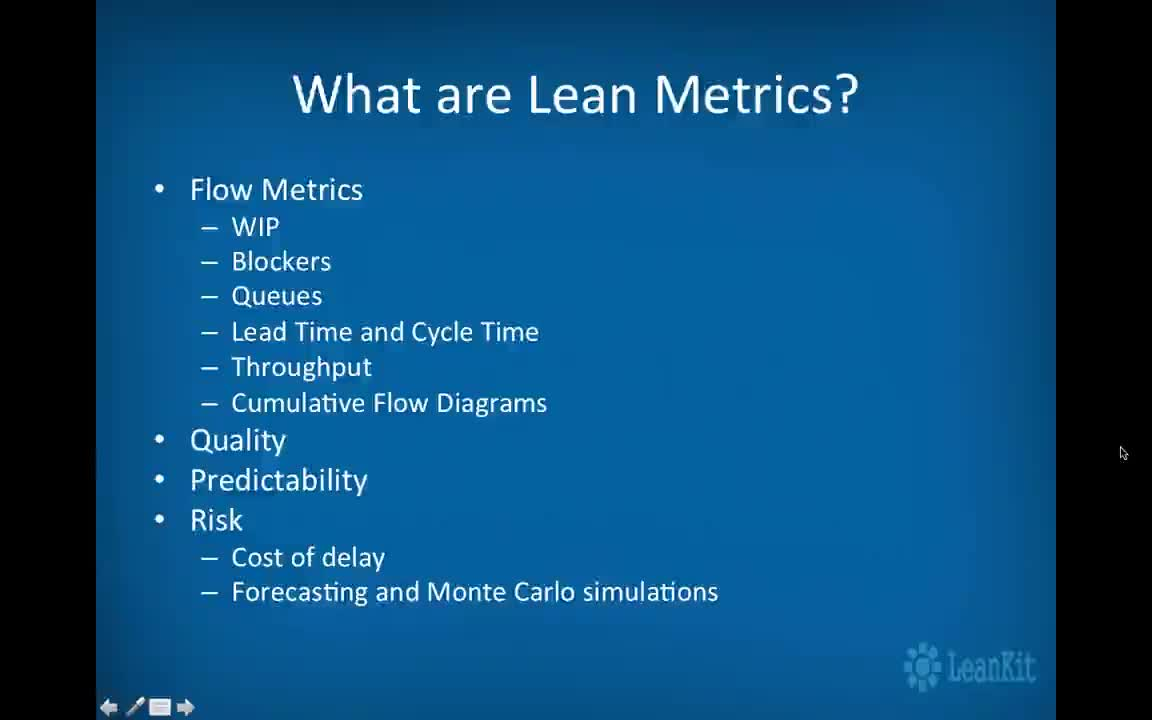 Video: Lean Metrics: How to Measure and Improve the Flow of Work